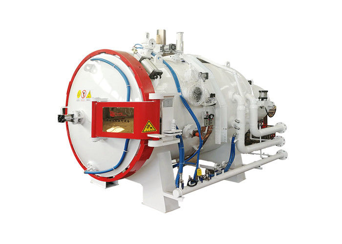 1320 ℃ Gas Quenching Vacuum Furnace , Heavy Weight Industrial Vacuum Furnace