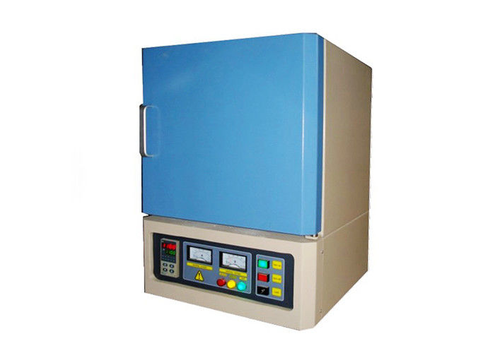 Electric Metal Lab Muffle Furnace High Temperature 1200 ℃ 50 Segments Programmable