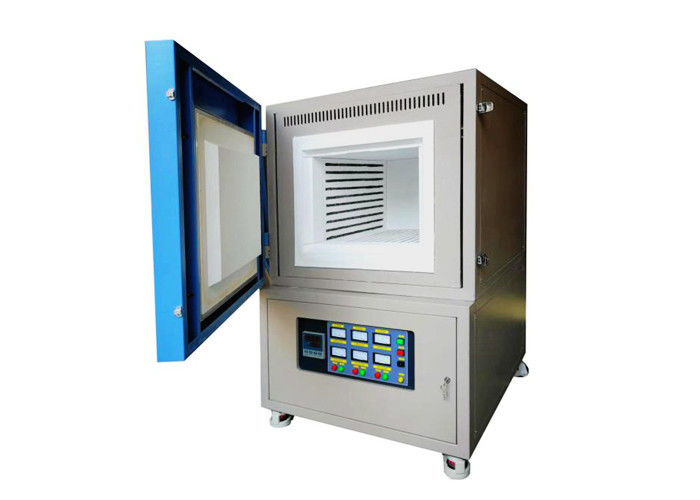 7 Inch Touch Screen Vacuum Muffle Furnace 1200 C For Industry Movable