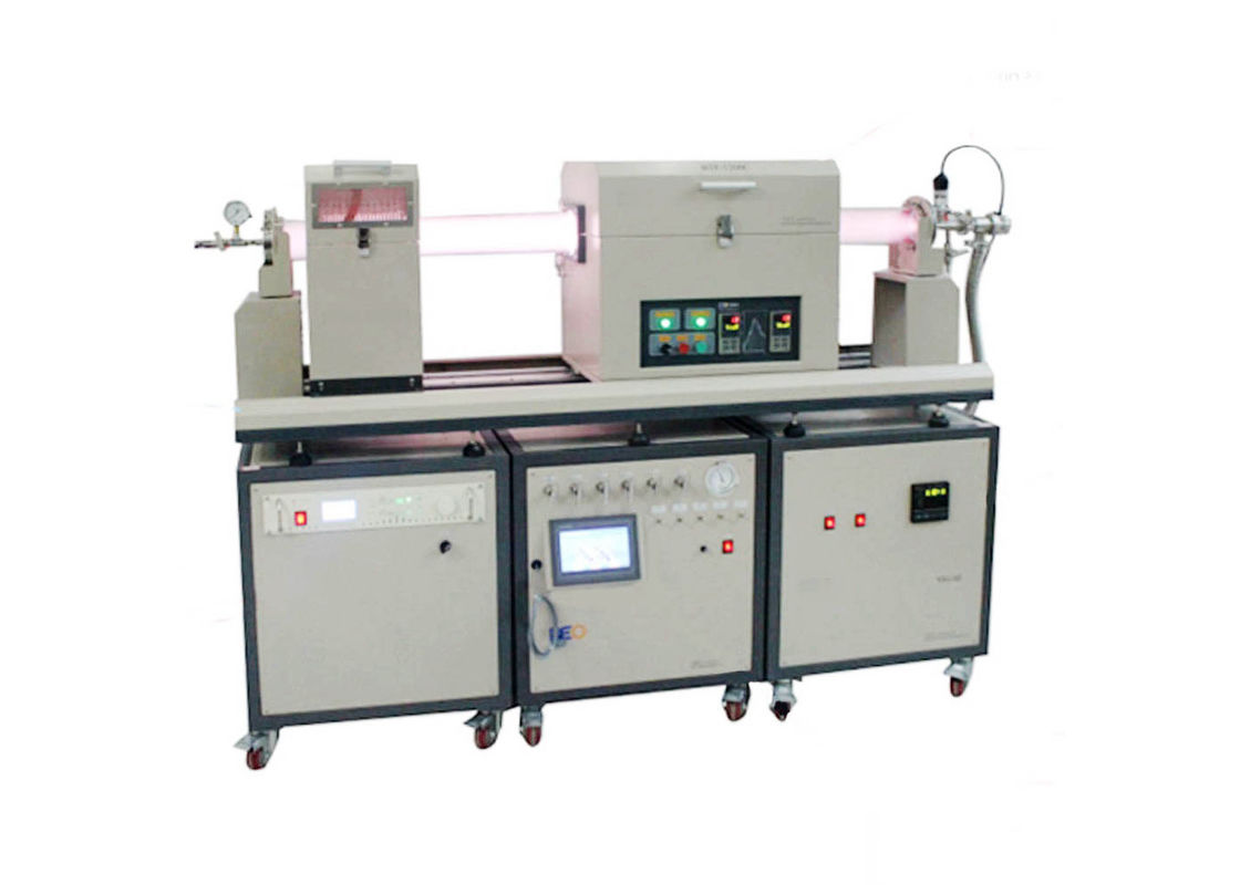1200C Max. Lab PECVD Tube Furnace with Gas Delivery & Vacuum Pump